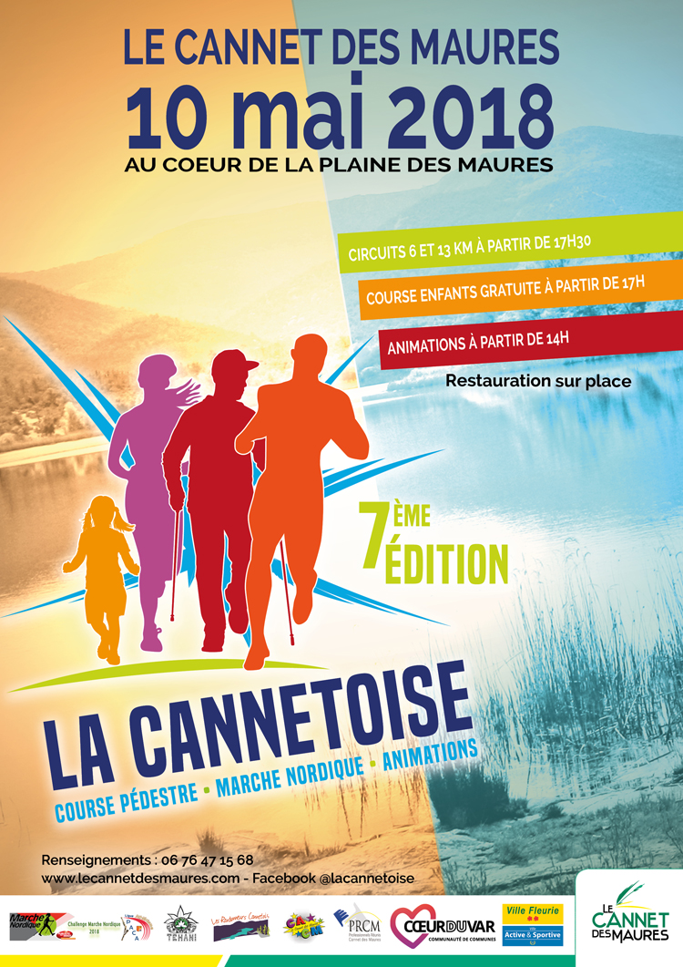 2018 Cannetoise Affiche