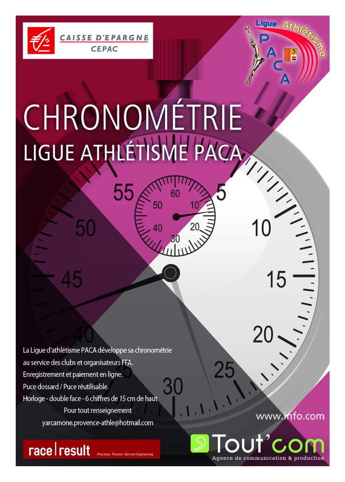affiche Chronometrie Ligue web 1