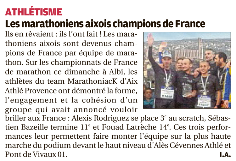 Aix Champion de France Parution du 02 mai 2018 30