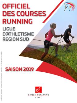Calendrier Des Courses 2019.Calendrier Des Courses Officiels Regions Sud 2019